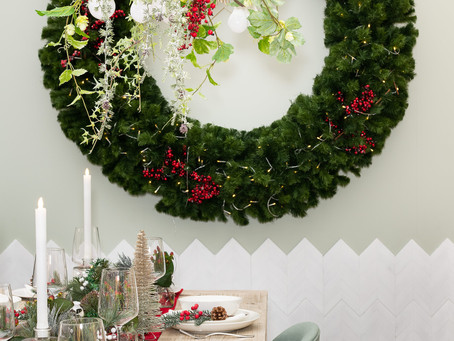CHRISTMAS DAY DINING ROOM - NORDIC ELEGANCE