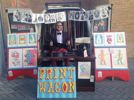 A chat with Aidan Saunders founder of Print Wagon