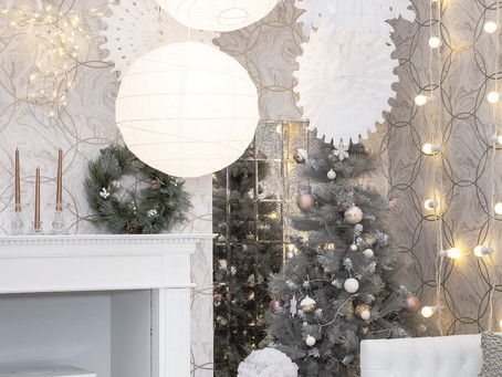 CHRISTMAS DAY LIVING ROOM | WINTER WONDERLAND