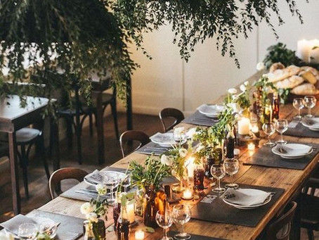 How to: Dress your table for a Christmas Party