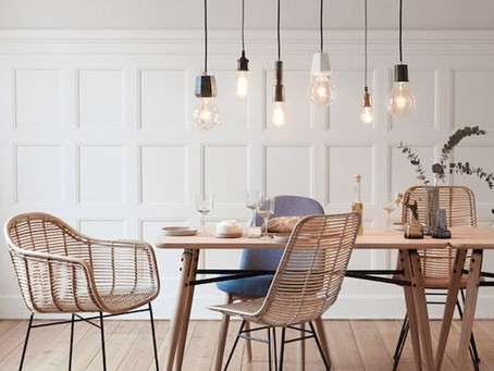 Get the look: How to use rattan in your home