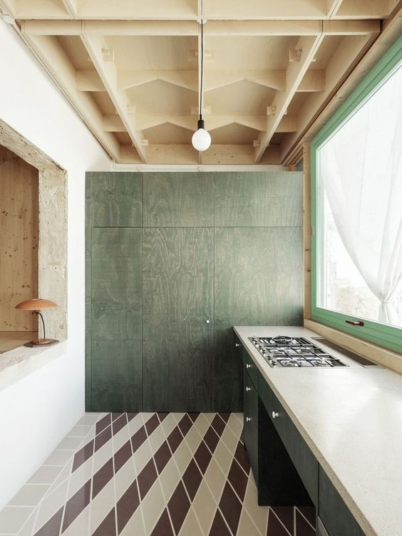 interior design trends 2021, earthy tones, plywood kitchen, modern kitchen, kitchen design