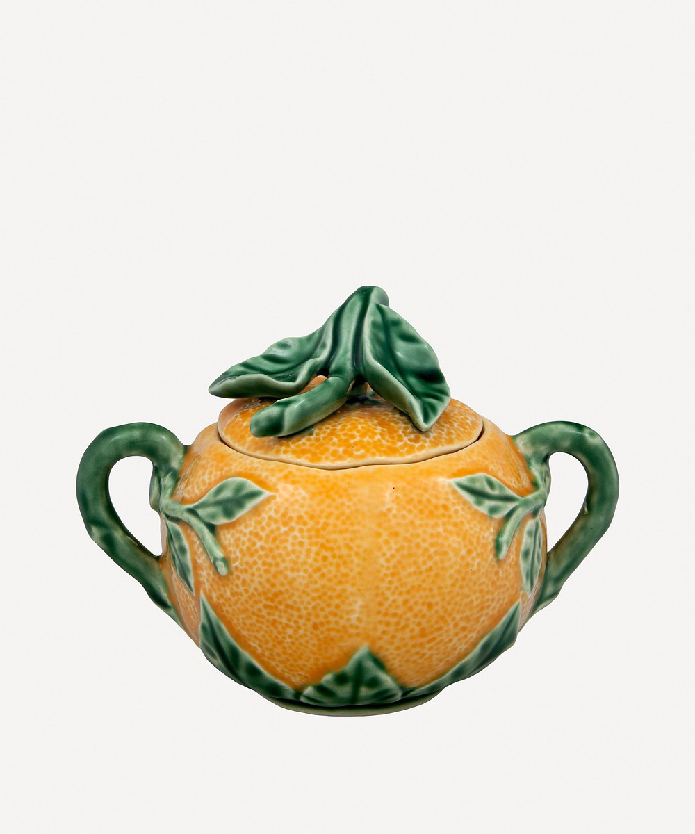 Bordalla Pinheiro Orange Sugar Bowl