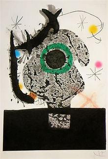 """Joan Miró """"Polypheme"""""""