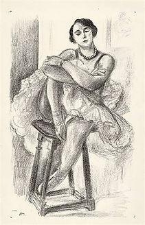 """Henri Matisse """"Danseuse"""""""