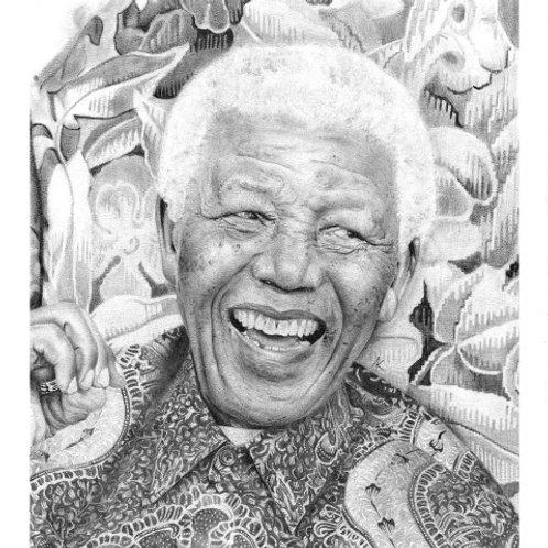 Nelson Mandela Print