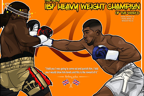 Anthony Joshua - IBF World Heavy Weight Champion
