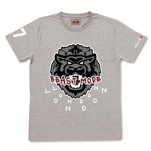 Health Iz Wealth - Beast Mode - T-shirt
