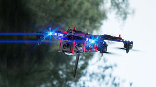 First-person drone racing: Watch the fast-paced, high-action new sport that is taking off in the UK