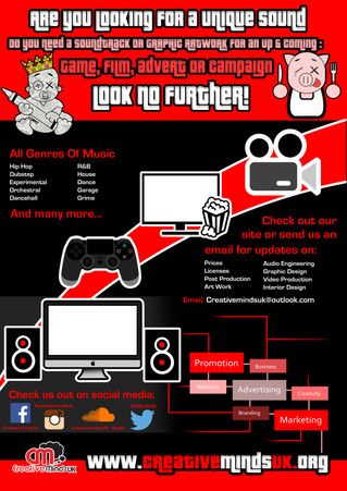 Do you have an upcoming; film, game, advert or campaign... Check us out!