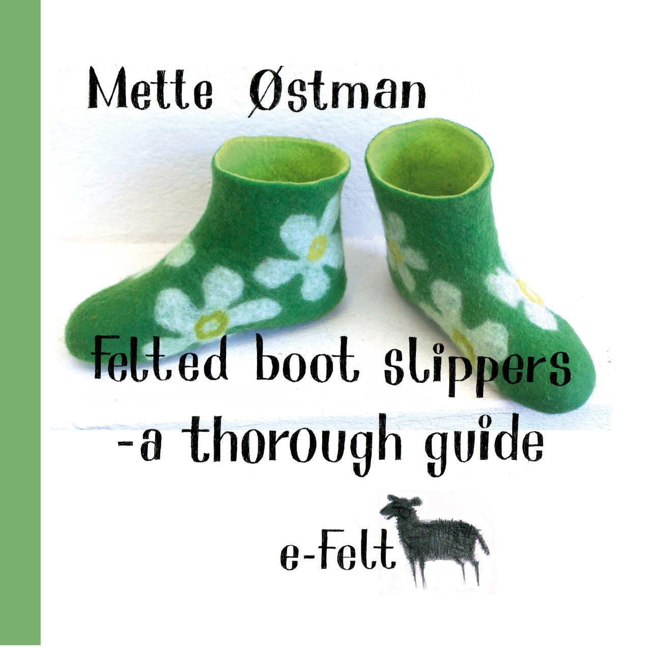Felted boot slippers frontpage