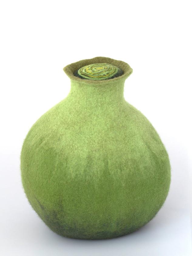 Unika - Krukke i grønne nuancer