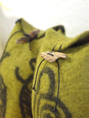 Unika - grøn gotlænderuld