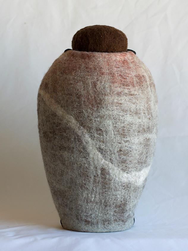 Unika - Rund urne med prop