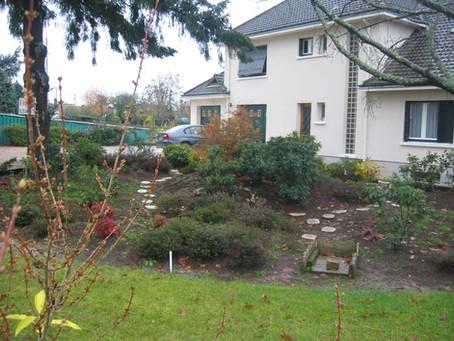 La création de jardins