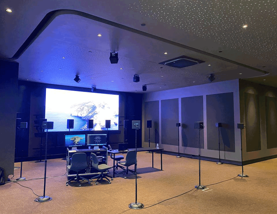 Inside Demo Room