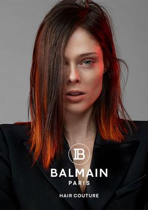 Balmain Hair couture spring summer 2019