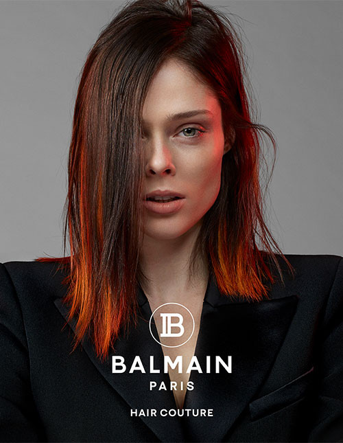 Balmain Hair couture spring summer 2019