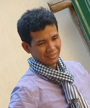 Sovann Komar's Director, Sothea Arun