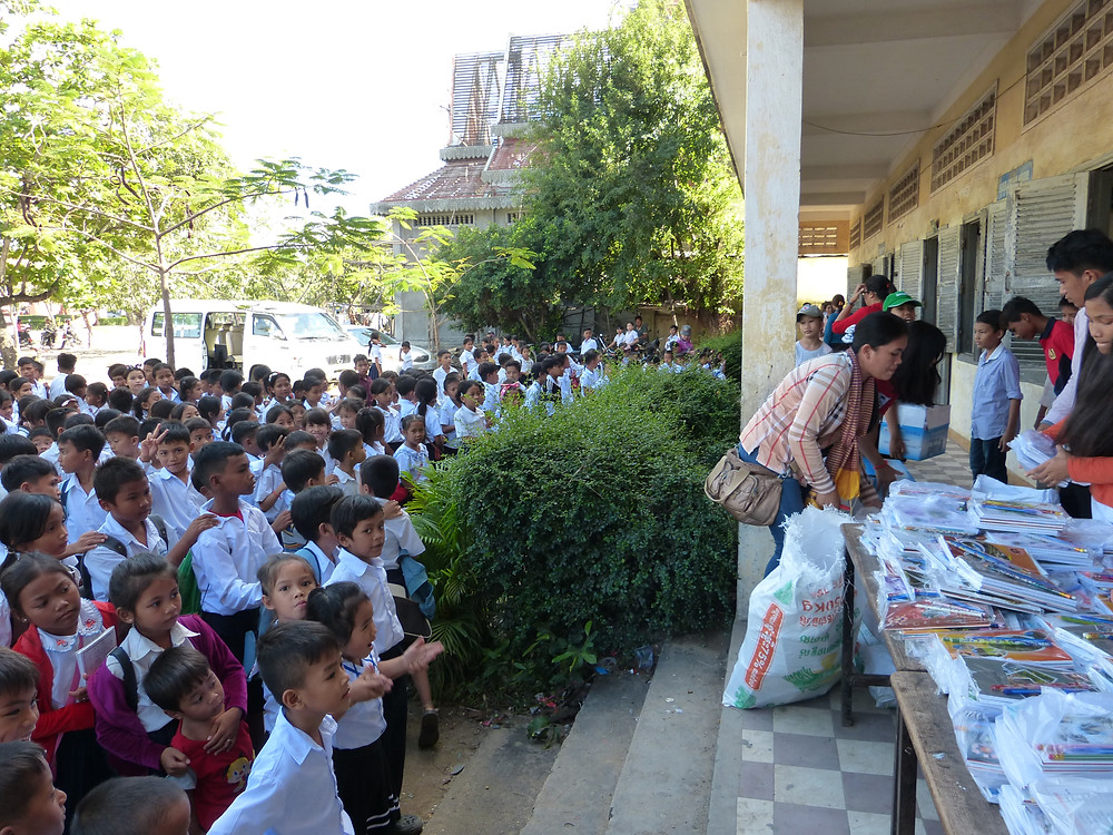 Stationary Donation Cambodia
