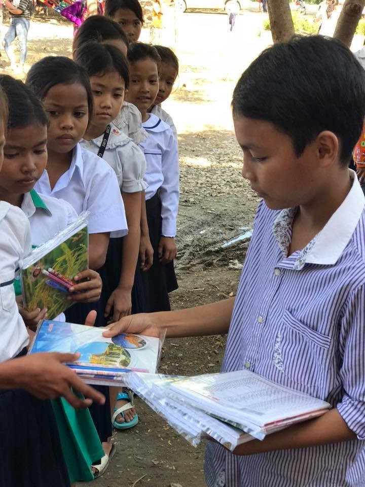 Donate Books Cambodia