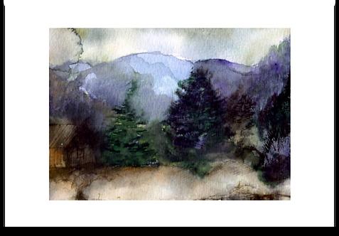 VALLEY III -  ART PAPER
