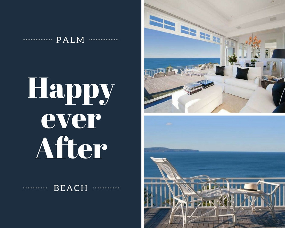 BEFORE AND AFTER RALPH LAUREN STYLE BEACH HOUSE