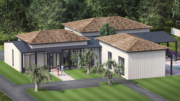 'THE GARRISON'  MB17 # 7  HOUSE PLAN STANDARD