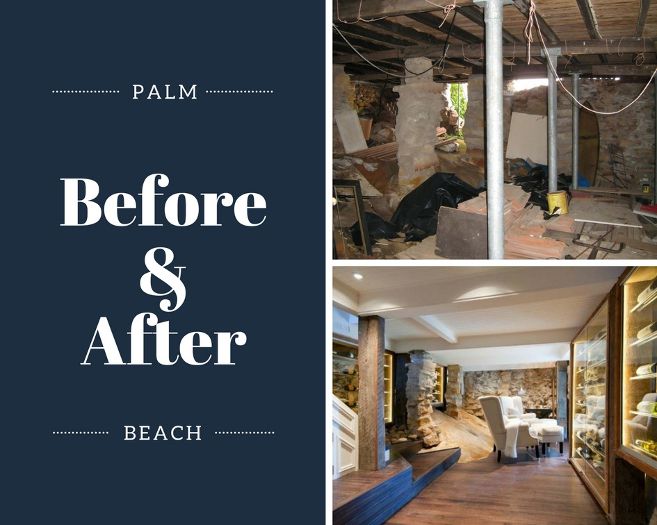 BEFORE AND AFTER WINE CELLAR