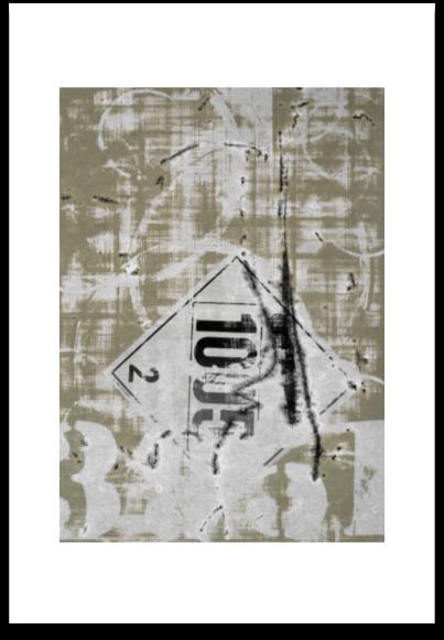 STAMPED  -  ART PAPER