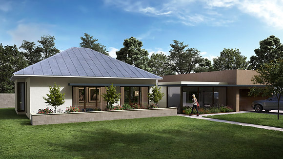 'THE EICHLER'  MB17 # 3 HOUSE PLAN STANDARD