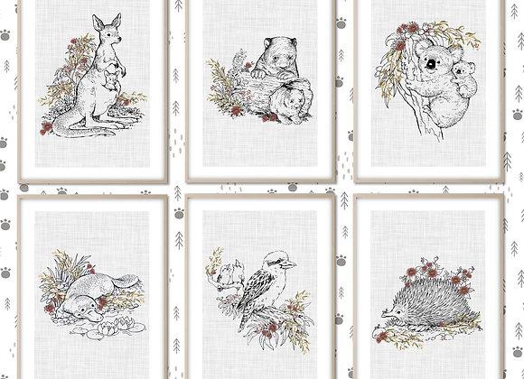 digital nursery prints