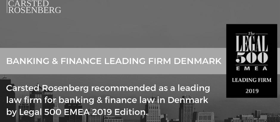 Legal 500 Denmark 2019 Edition