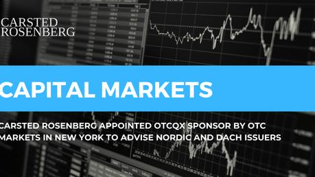 OTC Markets Group Designates Carsted Rosenberg as an OTCQX Sponsor