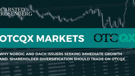 OTCQX Market for Nordic and DACH Issuers