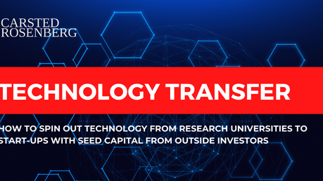 Technology Transfer and Seed Capital