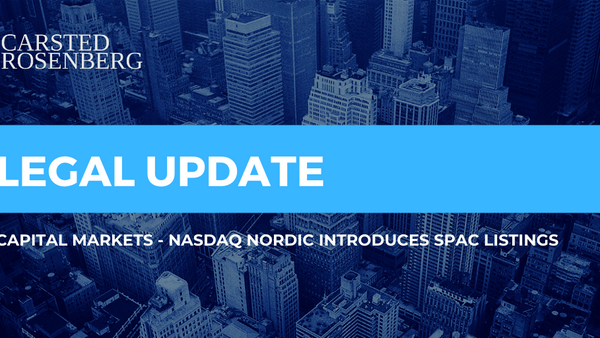 Nasdaq Introduces SPAC Listings in the Nordics