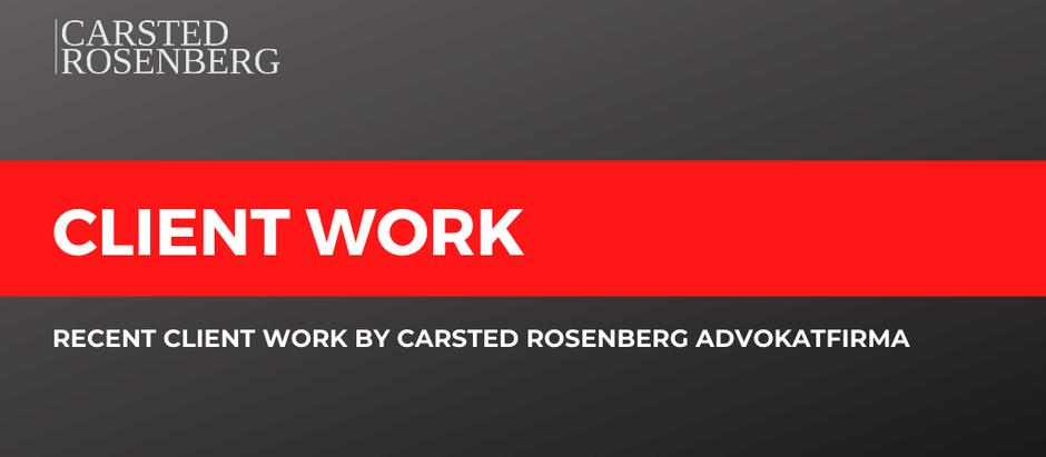 Carsted Rosenberg Advokatfirma Advised Freezertech on Acquisition by Carsoe