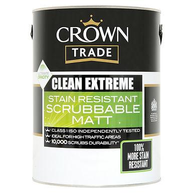 Crown Cln Extreme Scr Matt Magnolia 5 Ltr