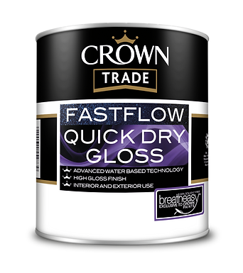 CROWN FAST FLOW GLOSS WHITE 1LTR