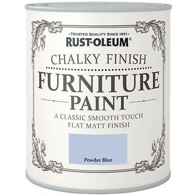 Chalky Powder Blue