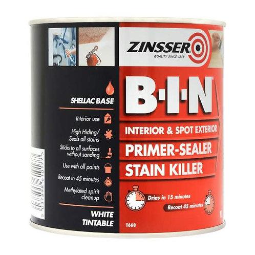 Zinsser B-I-N Primer & Sealer 500ml