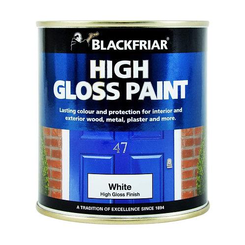 Blackfriar Gloss Paint Brilliant White