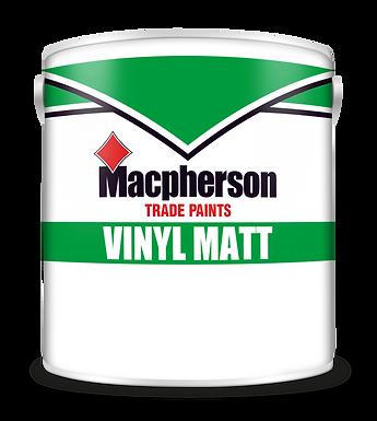 Macpherson Vinyl Matt Emulsion Bril White 2.5 Ltr