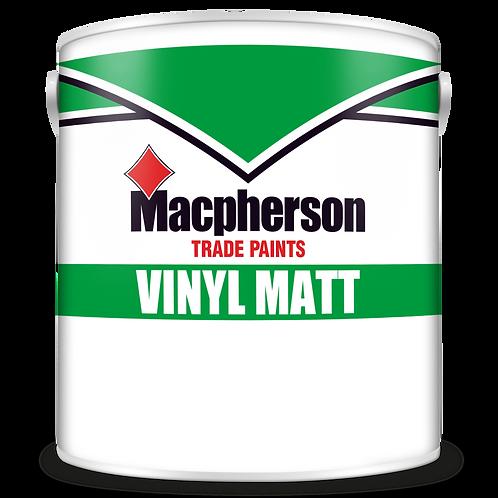 Macpherson Vinyl Matt Emulsion Magnolia 2.5 Ltr