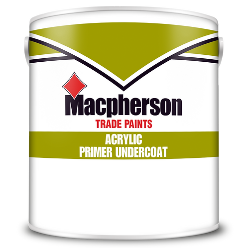 Macpherson Acrylic Primer U/Coat White 2.5 Ltr