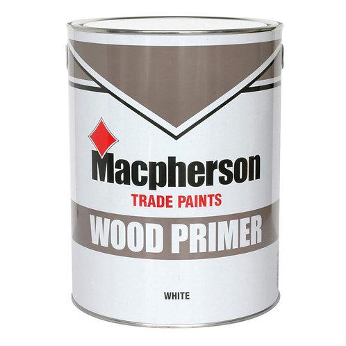 Macpherson Wood Primer White 2.5 Ltr