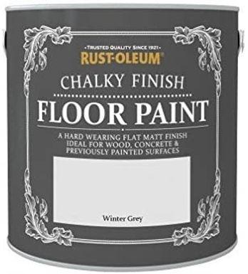 Chalky Floor Paint Winter Grey