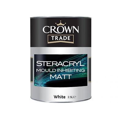 CROWN STERACRYL WHITE 2.5LTR