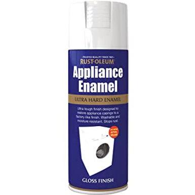 Appliance Enamel White Gloss